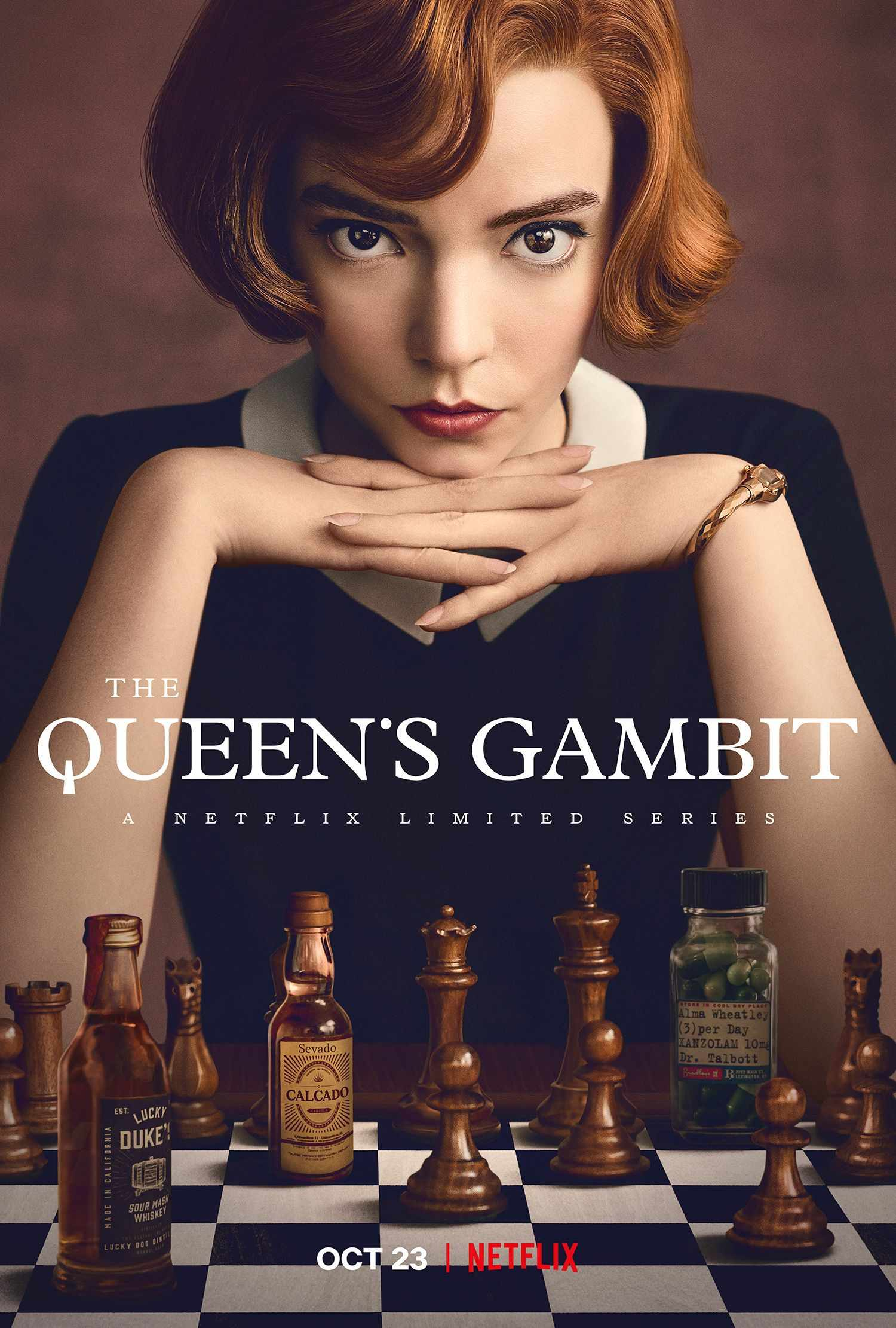 The Queen's Gambit: Netflix Adaptation Gets Official Trailer, Poster |  Collider