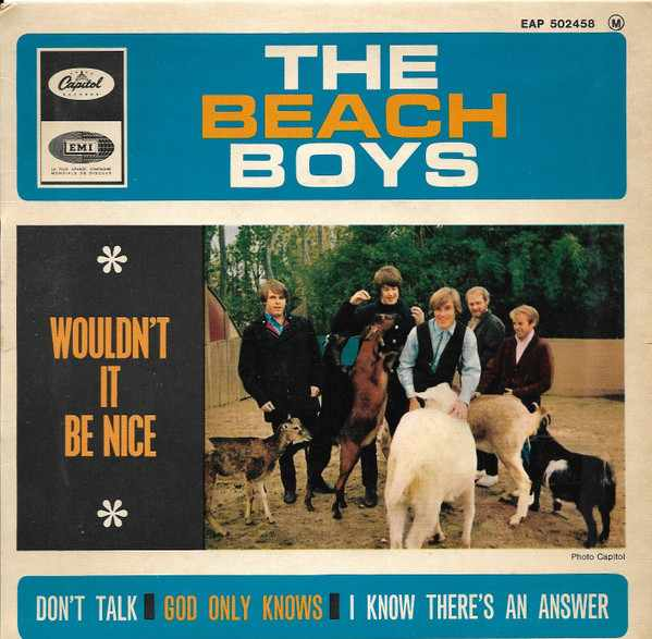 The Beach Boys - Wouldn't It Be Nice (1966, Vinyl) | Discogs